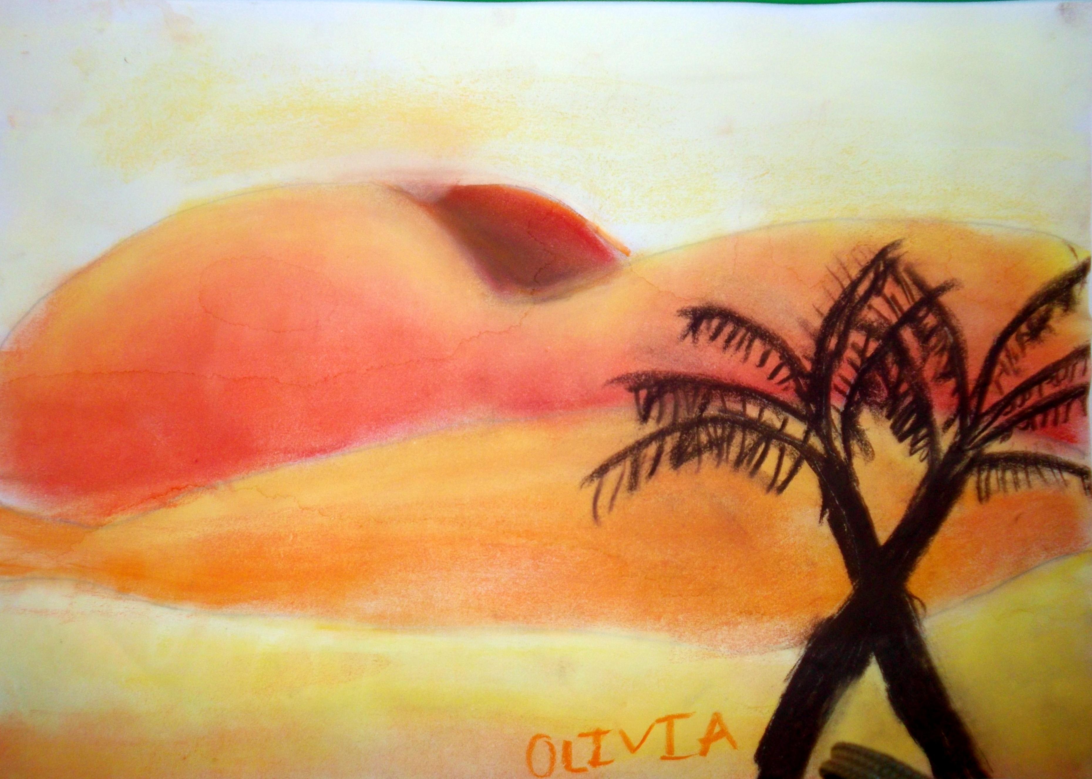 Vamos a practicar los colores calidos vivimos el arte en for Los colores de pintura