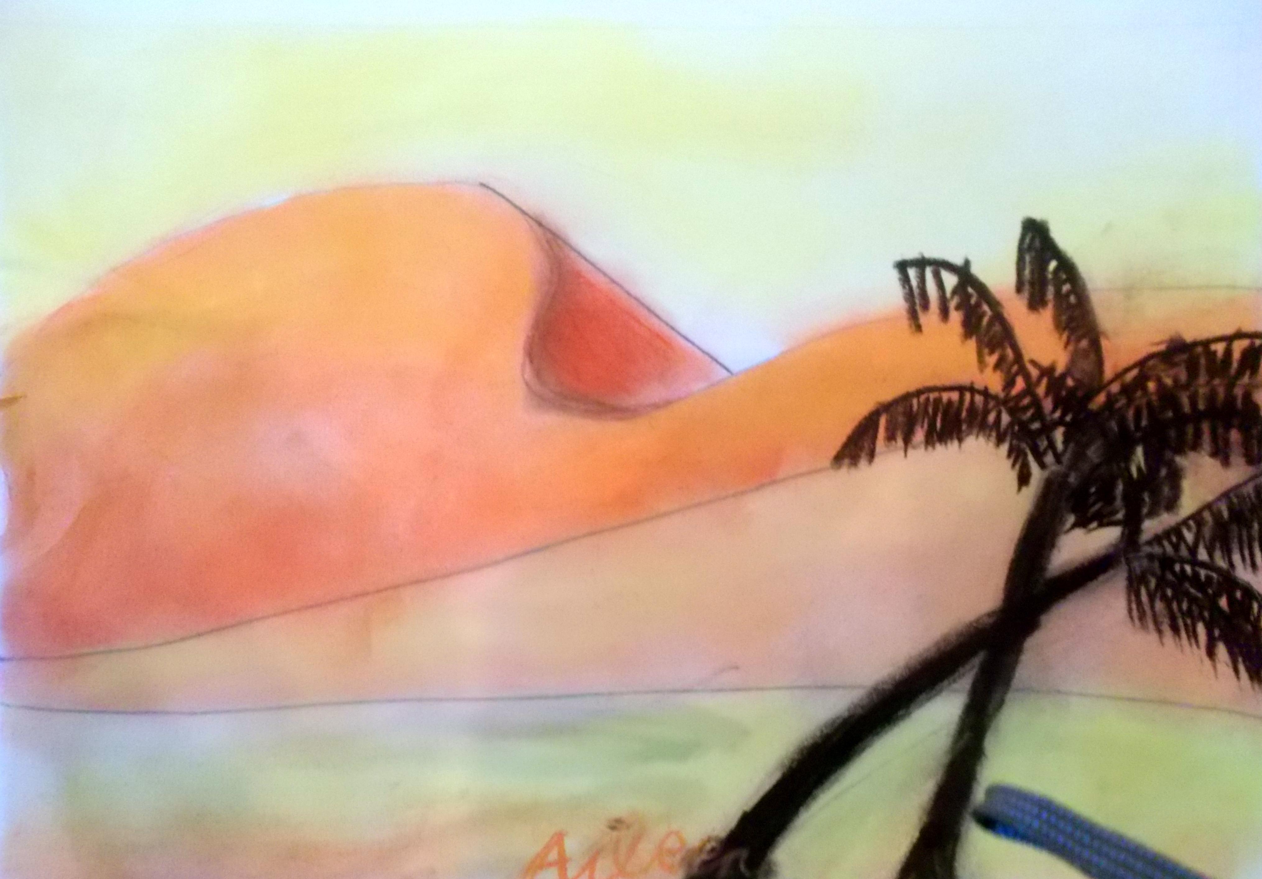 Colores calidos arte infantil en el estudio de cris - Gama de colores calidos ...