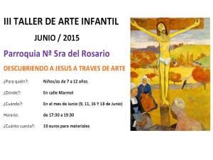 III TALLER DE ARTE INFANTIL