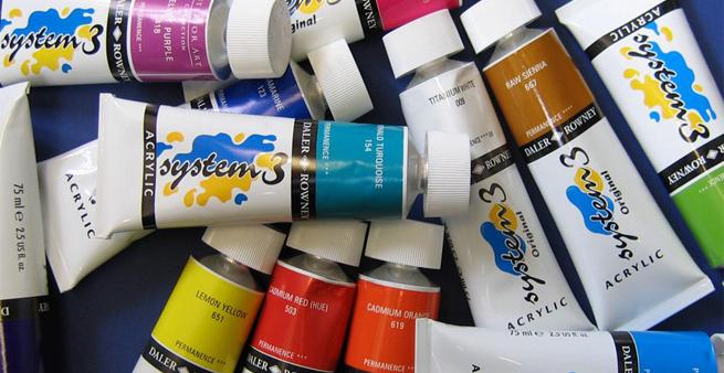 Los materiales 2 t cnicas pict ricas vivimos el arte - Materiales de pintura de pared ...