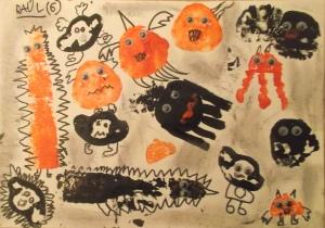 Monstruos para halloween