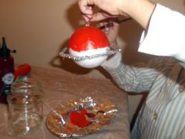 Bolas de navidad manualidad