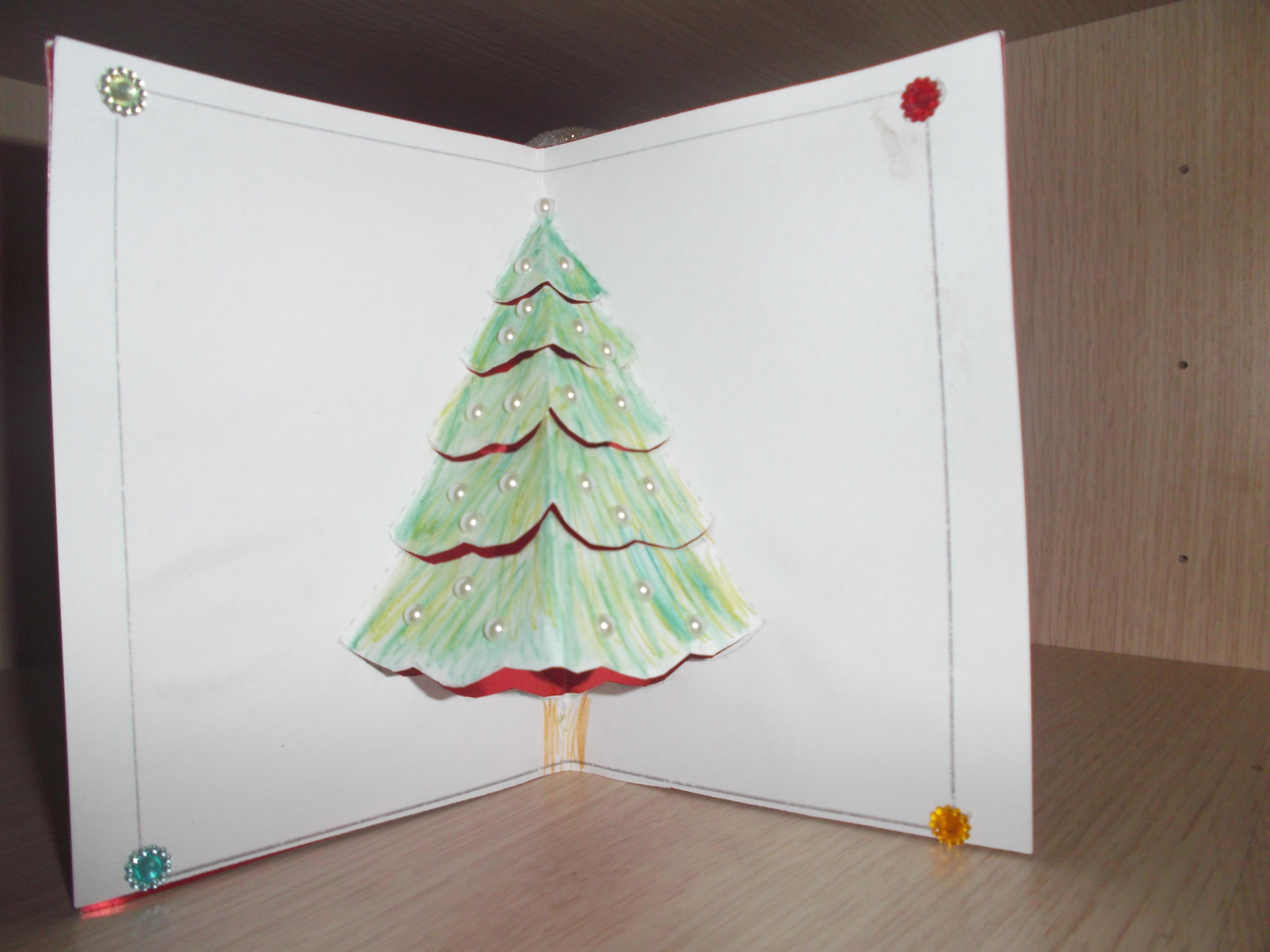 Hacer Postales De Navidad Con Ninos Decoracin Del Hogar Prosalocom