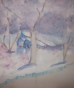Cuadros acrilico pintados por niños