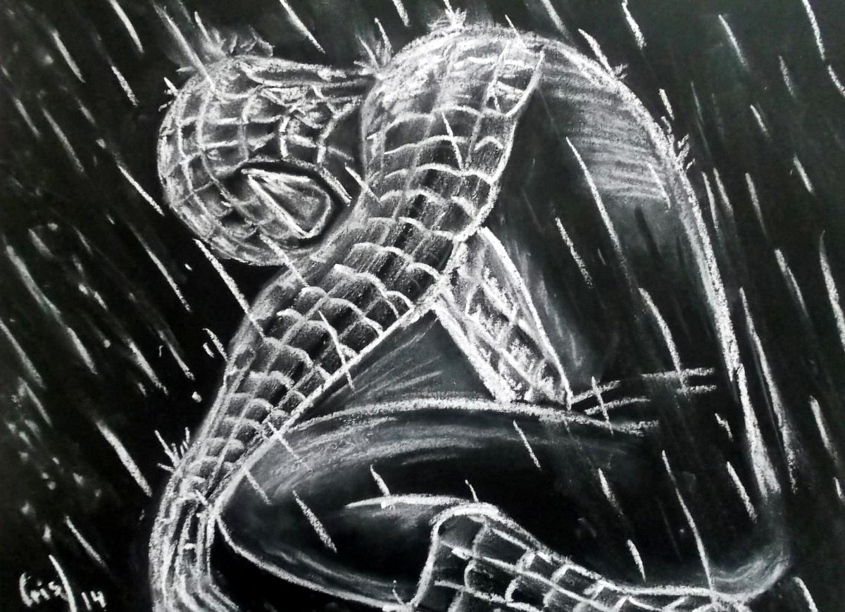 Spiderman para mi hijo César