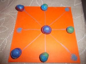 juegos de las tres en raya con arcilla