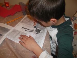 dibujar a MICHAEL JACKSON a carboncillo