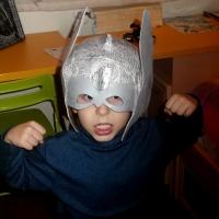 Mascara de Thor para carnaval