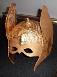 Mascara thor casera carnaval 7