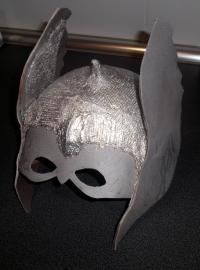 Mascara thor casera carnaval 9