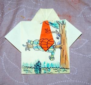 camisa pintada dia del padre arbol serpiente