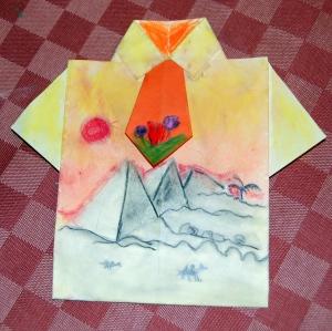 camisa pintada dia del padre piramides