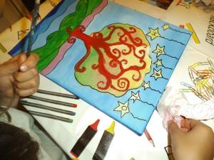 arbol fantasia acrilicos 2