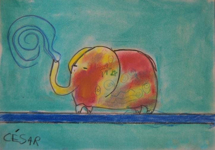 Cesar, 6 años - Pastel