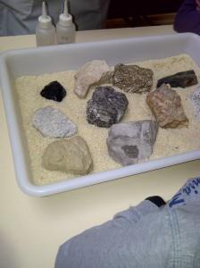 Museo Geominero - Taller de rocas - Abril 2014 0