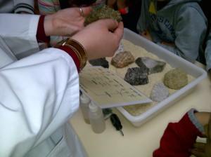 Museo Geominero - Taller de rocas - Abril 2014 4