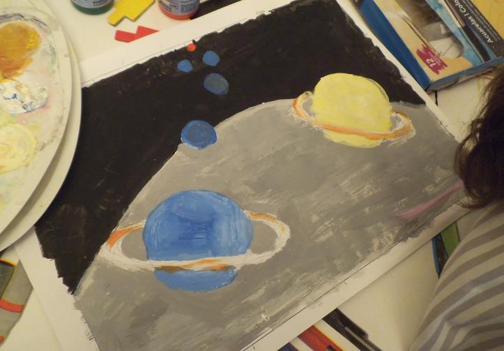 Dibujo de planetas 1