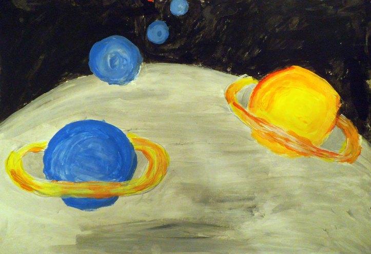 Dibujo de planetas 2