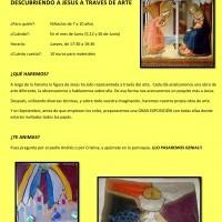 II TALLER DE ARTE INFANTIL EN LA PARROQUIA