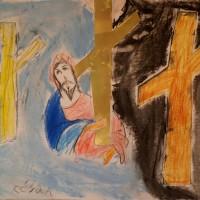 TALLER INFANTIL DE ARTE EN LA PARROQUIA. CRISTO ABRAZADO A LA CRUZ, DE EL GRECO