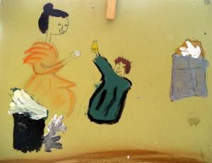 Taller de arte infantil parroquia Nuestra Señora del Rosario de Torrejon de Ardoz - 1