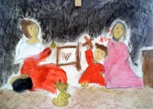 Taller de dibujo y pintura para niños en Torrejon de Ardoz