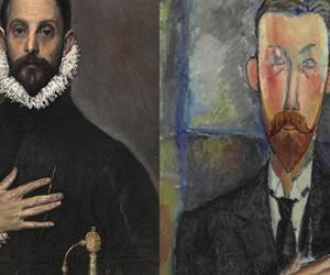 El Greco y la pintura moderna. El Caballero de la mano. El Greco y Amedeo Modigliani