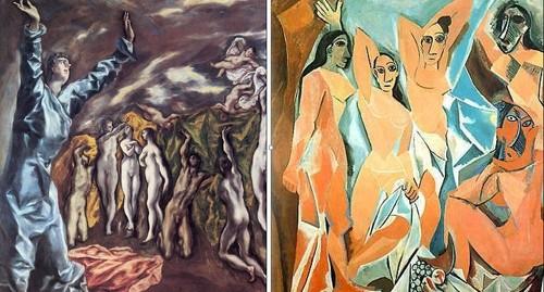 El Greco y la pintura moderna. Las señoritas de Avignon. El Greco y Picasso