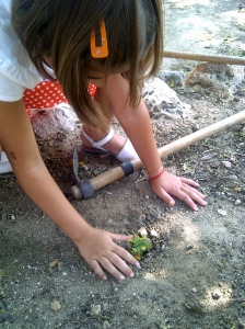 Actividades con niños en el Caserio del Henares