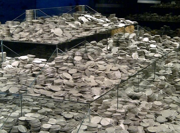 Planes con niños en Madrid - la fragata Mercedes en el museo Arqueologico de Madrid