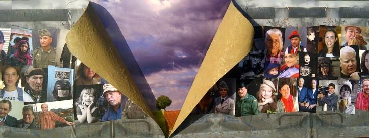 Fotografia de Javier Rego en el 25 aniversario muro de berlin en Parque de Europa Torrejon de ardoz