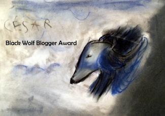 pREMIO Black Wolf Blogger Award A MI TALLER DE PINTURA INFANTIL