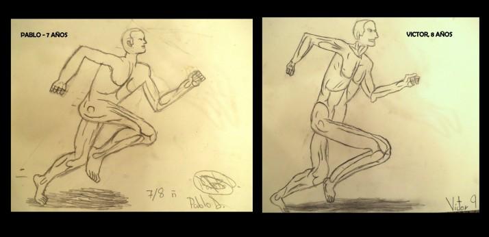 dibujos del cuerpo humano por niños