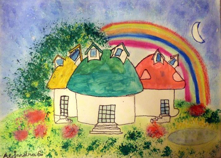 academia de dibujo y pintura para niños en torrejon de ardoz Cristina estevas