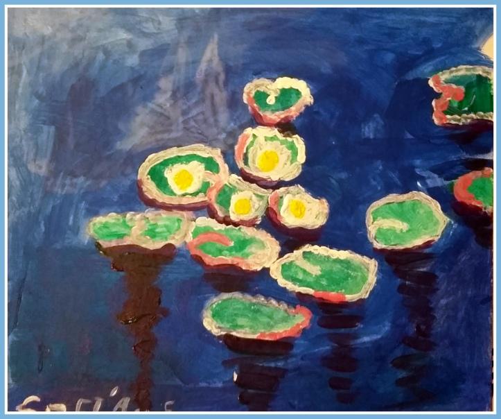 taller de Monet para niños