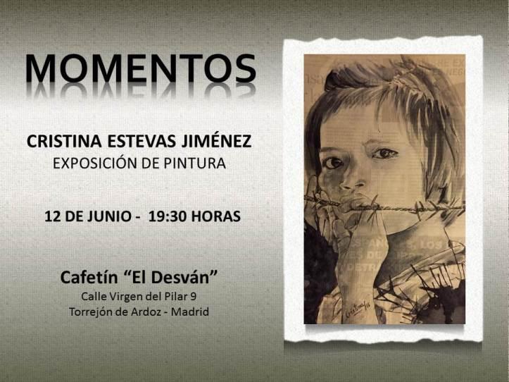 Exposición de pintura en el Cafetin el Desvan de Torrejon de Ardzo