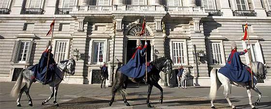 cambio de guardia palacio real de madrid planes con niños