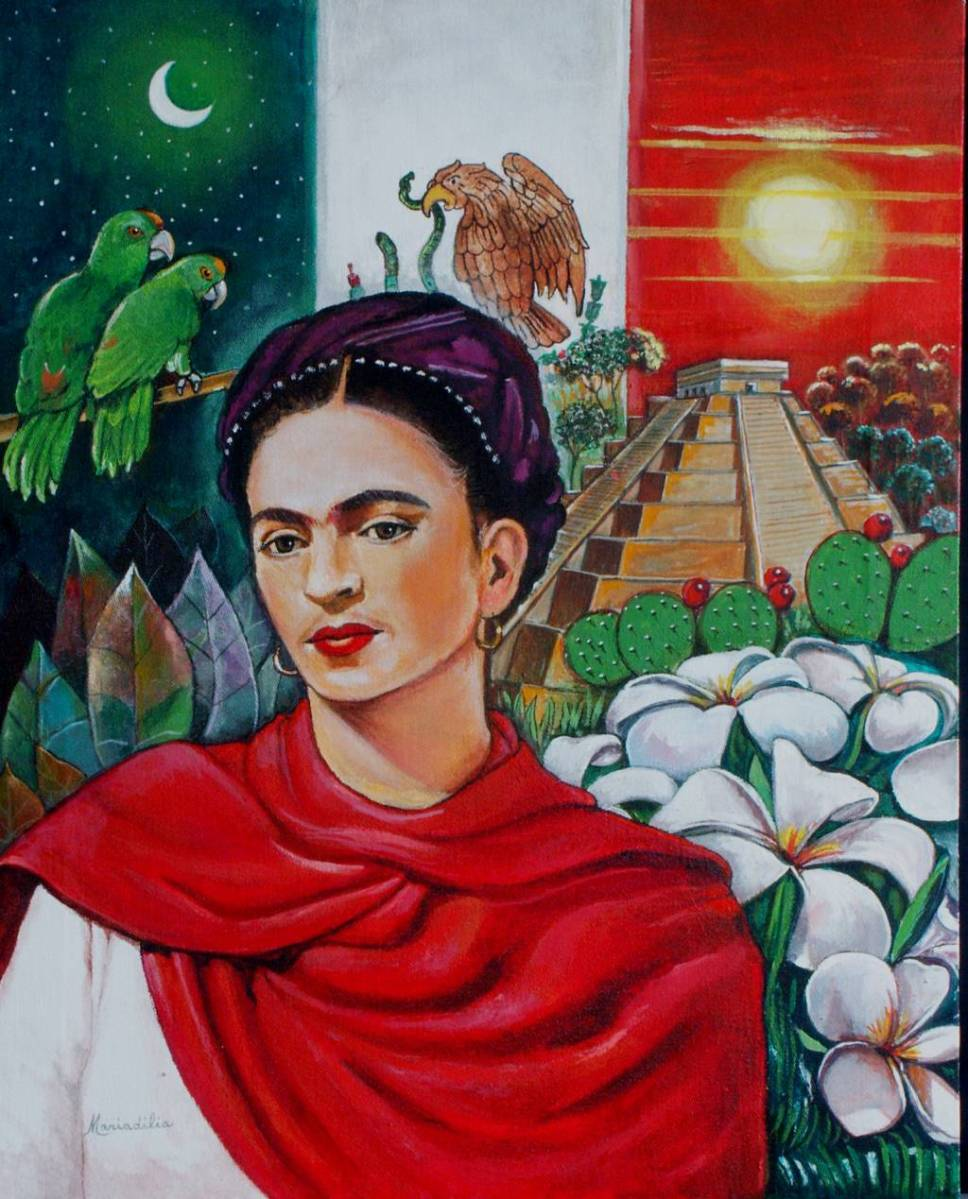 FRIDA KALHO PARA NIÑOS EN UN ORIGINAL VIDEO DE DIBUJOS ANIMADOS