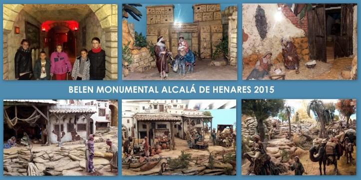 BELEN MONUMENTAL ALCALA DE HENARES 2015 PLANES CON NIÑOS
