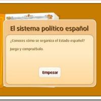 RECURSOS ESCOLARES: LA ORGANIZACIÓN POLÍTICA Y TERRITORIAL EN ESPAÑA