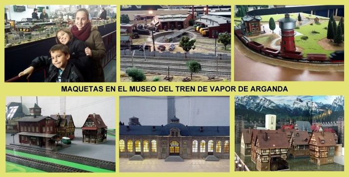 el tren de vapor de arganda planes con niños Madrid 3