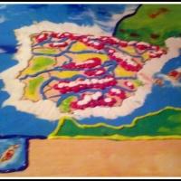 ESTUDIAR CON ARTE: HACER MAPAS CON PLASTILINA