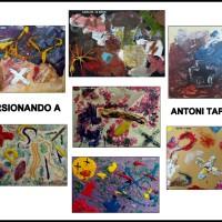 LOS PEQUEÑOS ARTISTAS Y ANTONI TÁPIES