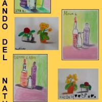 Los artistas de 4 a 6 años componen y pintan sus propios bodegones