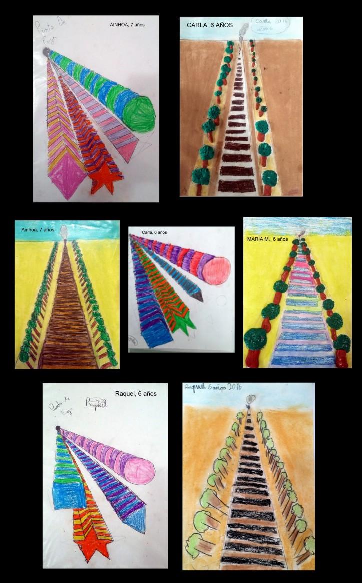 estudio de la perspectiva con niños usando figuras geometricas y plastilina.jpg