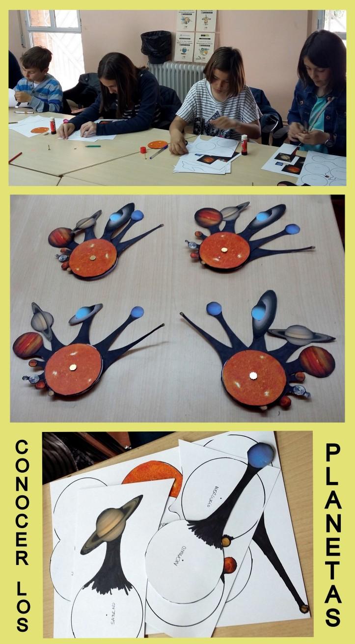hacer un movil de planetas con cartulina y mariposa para niños en el caserio del henares