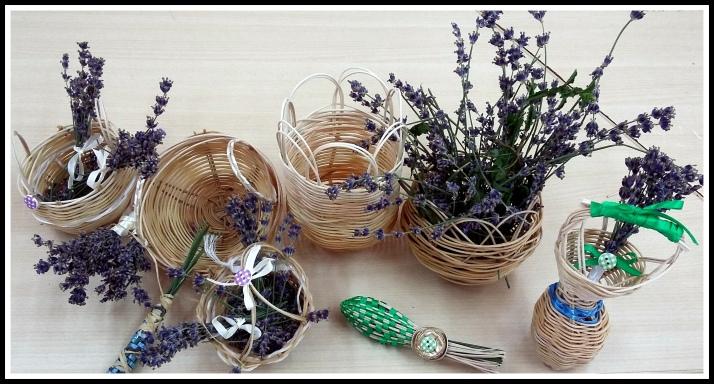 planes con niños hacer cestas con medula y caña Caserio del Henares Huertos de ocio