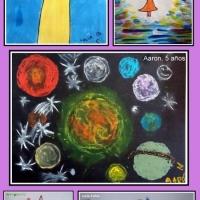 Obras de mis pequeños artistas de 4 a 6 años