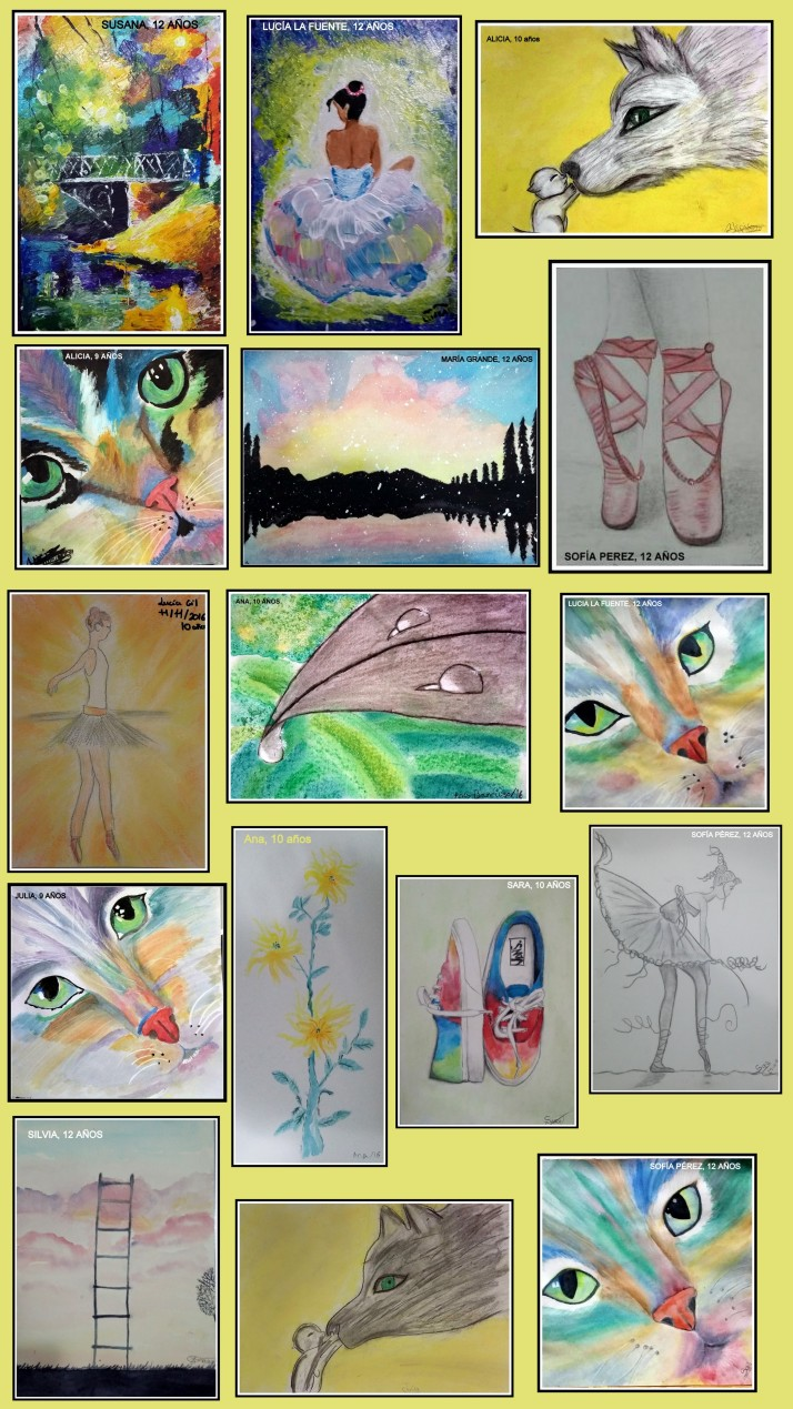 exposicion-obras-ninos-10-a-12-anos-arte-infantil-oleo-pastel-carboncillo-y-acuarela