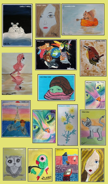 exposicion-obras-ninos-7-a-9-anos-arte-infantil-oleo-pastel-carboncillo-y-acuarela